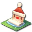 サンタのベンチ(クリスマス)