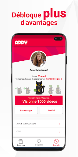 APPY : jeux concours 100% gratuits screenshot 4