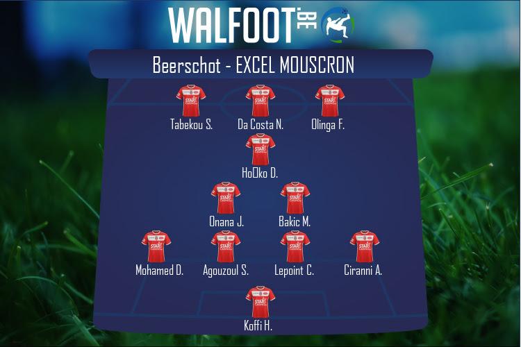 Excel Mouscron (Beerschot - Excel Mouscron)
