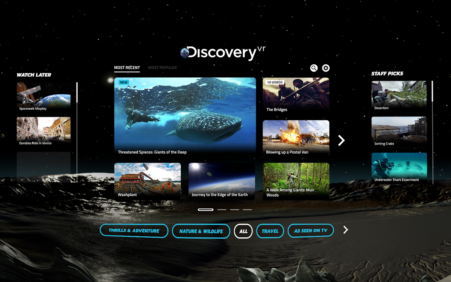 Discovery VR- screenshot