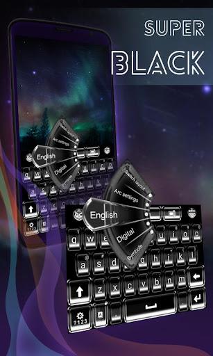 Super Black Keyboard