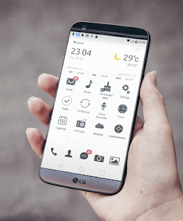 Simple Theme LG G6 G5 V20 (V30 read description) Screenshot