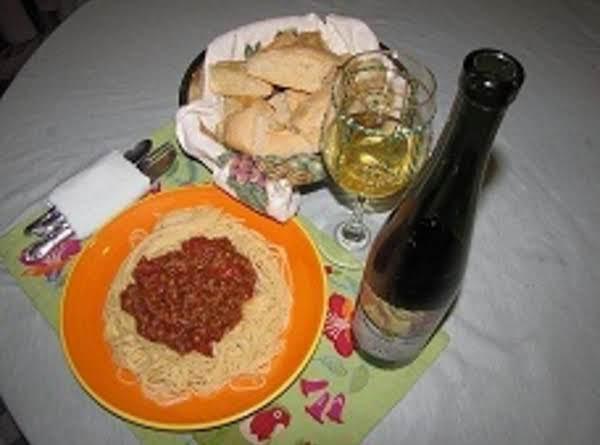 Italian Spaghetti And Meatsauce