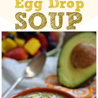 Tex-Mex Egg Drop Soup.