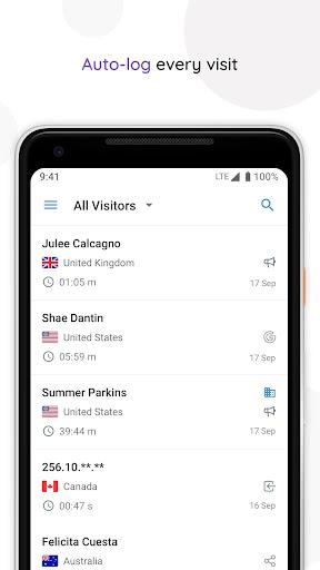 Zoho SalesIQ - Live Chat App screenshots 3