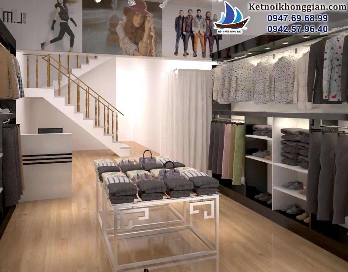 thiết kế shop thời trang giá rẻ tại Hòa bình