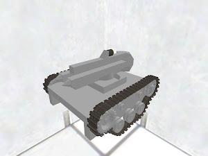 150mm gatling cart