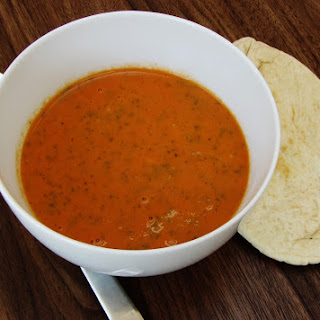 Tomato and Coriander Soup.