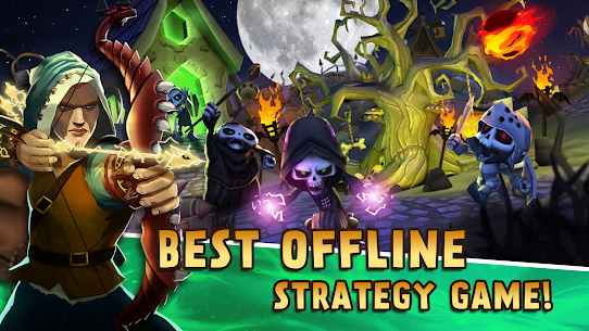 Skull Towers: Best Offline Games Castle Defense 1