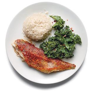 Chili-Crusted Black Sea Bass