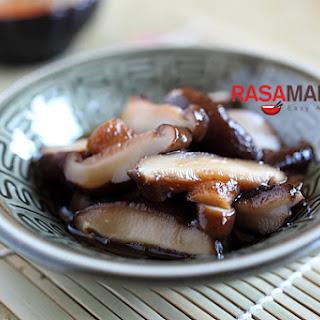 Braised Mushroom with Dashi