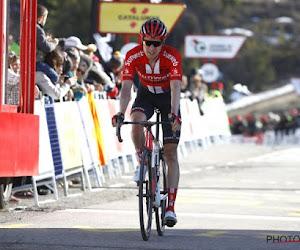 Un grimpeur de l'équipe Sunweb quitte le Tour de France