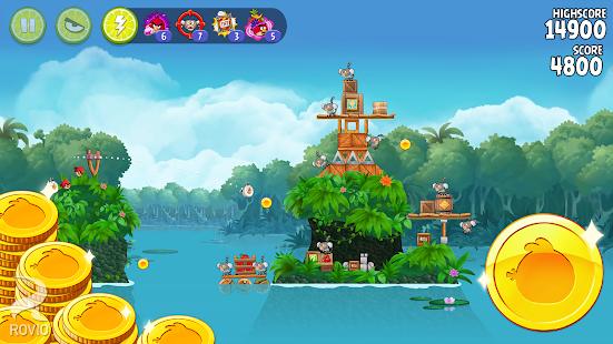 Angry Birds Rio: miniatura de captura de pantalla