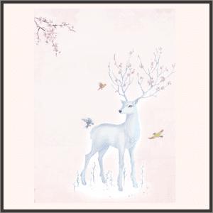 青崖の白鹿