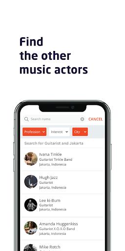Soundfren - Music Professional Social Networking screenshot 1