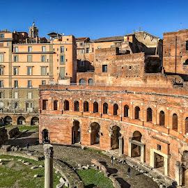 Fori Traiani - Roma by Antonello Madau - Instagram & Mobile iPhone