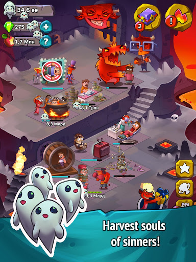Screenshot for Hell Clicker PRO in United States Play Store