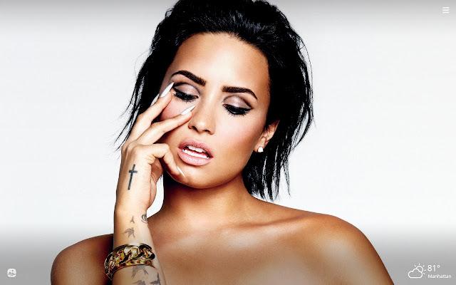 Demi Lovato HD Wallpapers New Tab