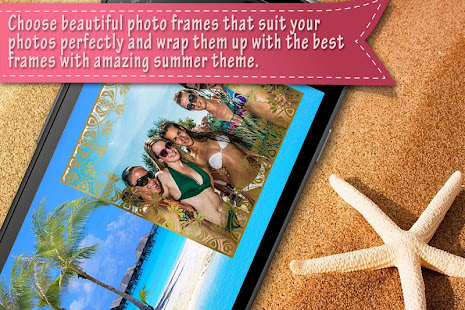 Beach Photo Frames 4