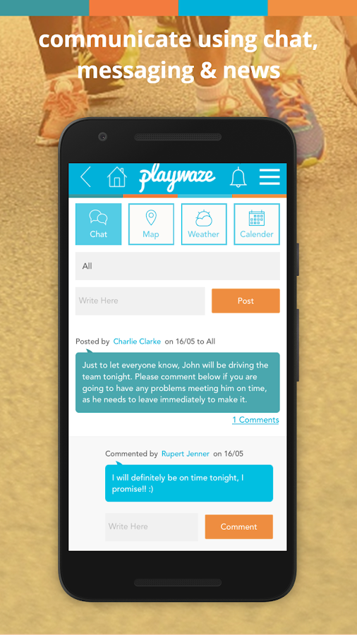 Playwaze- screenshot
