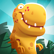 Dino Bash - Dinosaurs v Cavemen Tower Defense Wars