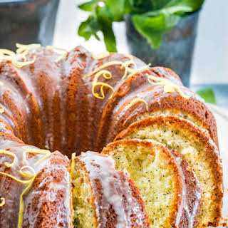 Lemon Poppy Seed Bundt Cake.