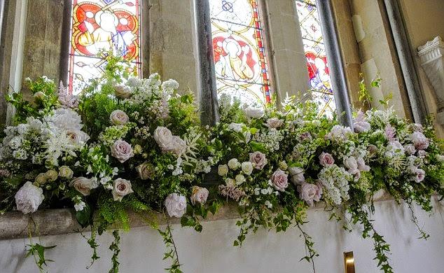 Pippa's wedding flowers