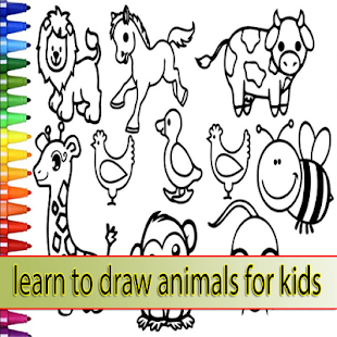 learn to draw animals for kids - náhled