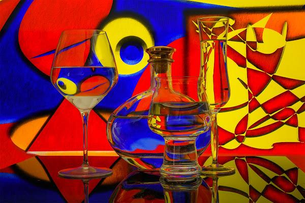 Colorful abstract di Sara Jazbar