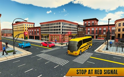 City School Bus Coach Simulator 2018 - náhled