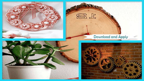 Cute Clock Garden Sign Styrofoam - náhled