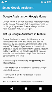Voice Commands For Google Assistant - náhled