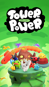 Tower Power Kawaii Tower Building Shooter 1.0.27 Mod (Unlocked Everything) 1