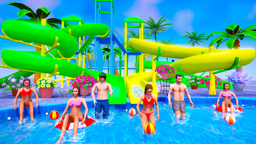 Water Sliding Adventure Park - Water Slide Games android2mod screenshots 10