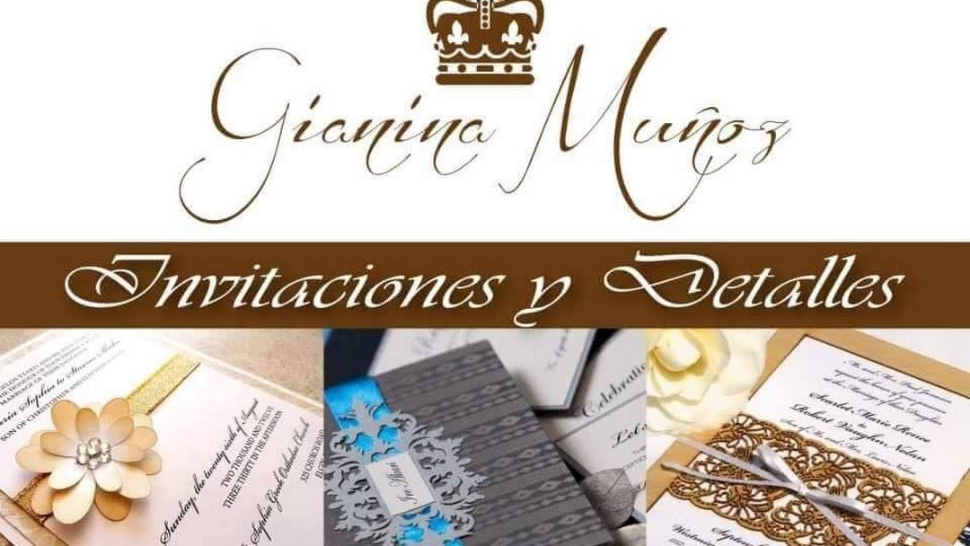 Gianina Muñoz Invitaciones Y Detalles Servicio De