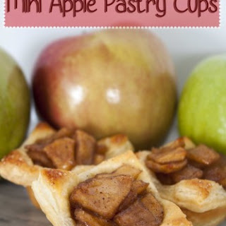 Apple Pie Puff Pastry Cups | Easy Apple Dessert