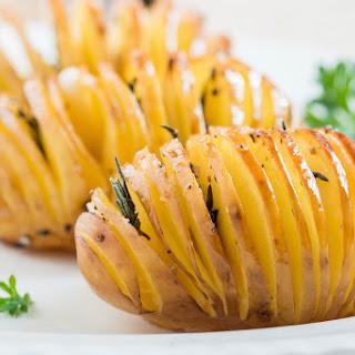 Hasselback Potatoes (Vegan) Recipe