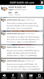 KSHP RADIO AM 1400- screenshot thumbnail