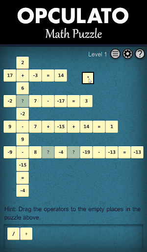 OPCULATO Math Game Free
