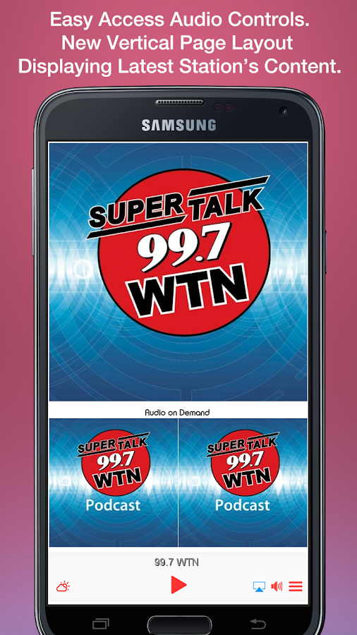 99.7 WTN- screenshot