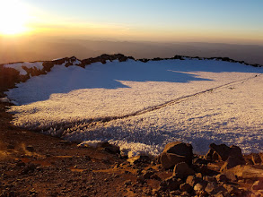 Photo: Path Across the Crater