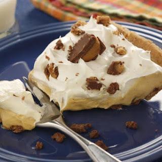 Decadent Peanut Butter Pudding Pie.