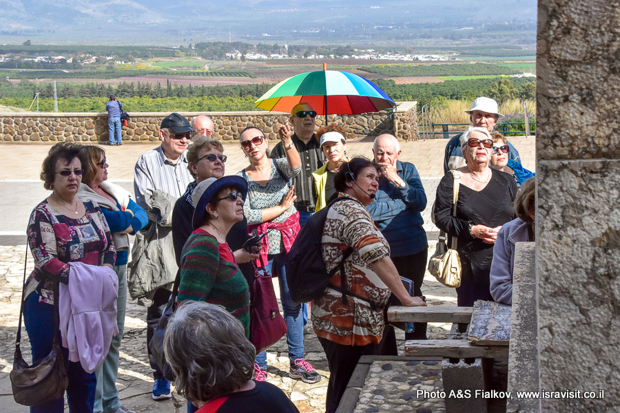 Гид в Израиле Светлана Фиалкова. Экскурсия по Галилее на мемориале Трумпельдора.