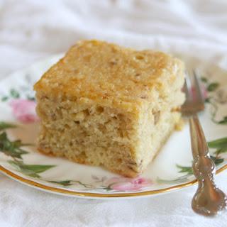 Chickpea Flour Banana Cake (Gluten-Free)
