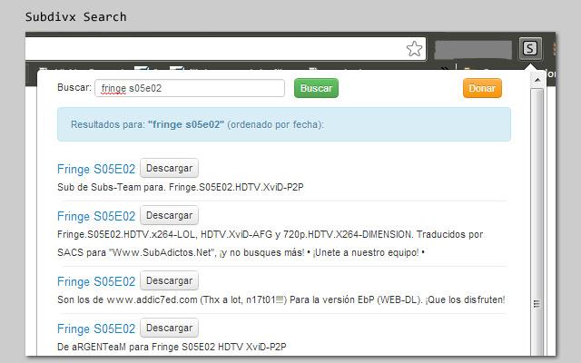 Subdivx Search
