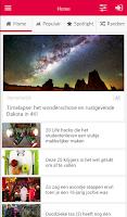 Screenshot of Trending.nl