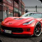 Corvette C7 Drift Simulator Icon