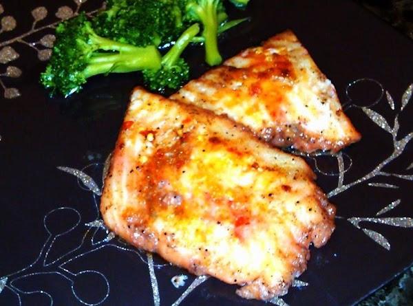 Spiced Cherry Flounder Recipe