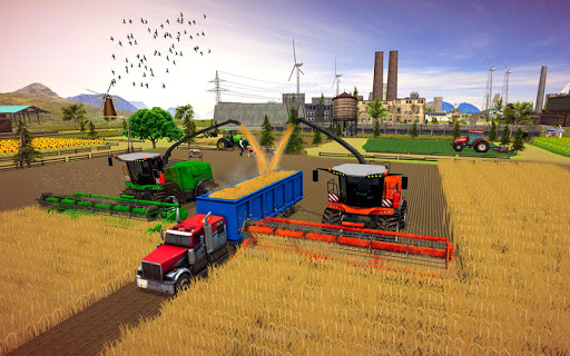 Farming Simulator Game 2018 u2013 Real Tractor Drive 1.4 screenshots 18