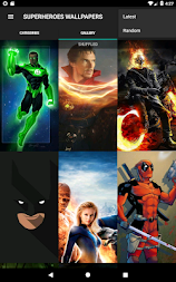 Superheroes Wallpapers | 4K Backgrounds APK screenshot thumbnail 2
